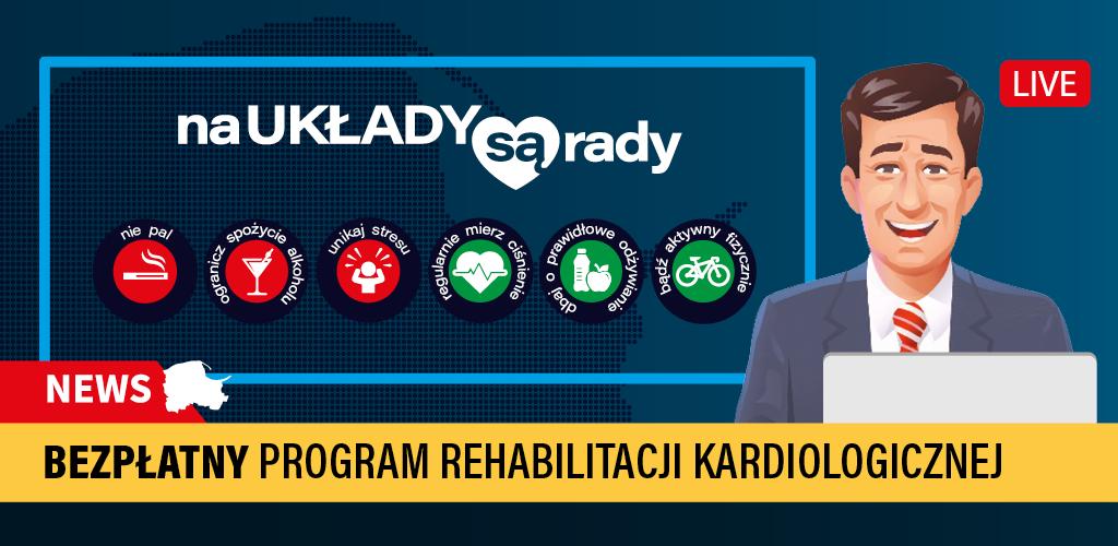 Bezpłatna rehabilitacja kardiologiczna!